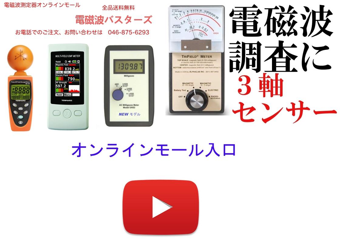 電磁波測定器オンラインモール入口へ